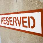 """Reserved"" by miri"