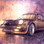 """""""Porsche 911 Turbo"""" by shevchukart"""