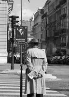 trenchcoat in paris
