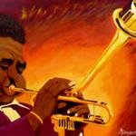 """Dizzy Gillespie  Jazzman"" by anthonydunphy"