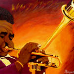 """Dizzy Gillespie  Jazzman"" by anthonydunphy"