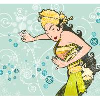 Bali's Dancer Art Prints & Posters by Rivan Syamsudin
