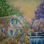 """Summer Cottage"" by artbykristen"