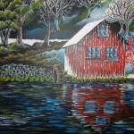 """Fishing Cabin"" by artbykristen"