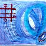 """""""Blue tornado"""" by NinaBravoInfiniteFreedom"""