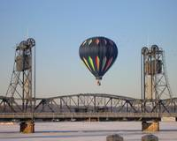 Hot Air in Winter
