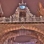 """Foregate St Clock 2"" by dybowski"