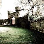 """Hawarden, Castle entrance, UK"" by dybowski"