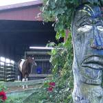 """Totem Pole Horse Tonto"" by legion150"