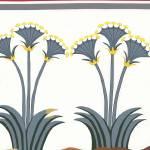 """New Minoan Sea Daffodils (Lilies) Fresco"" by MinoanAtlantis"