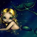 """""""Shimmering Mermaid"""" by strangeling"""