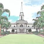 """""""Orlando FL Temple"""" by DanAnderton"""
