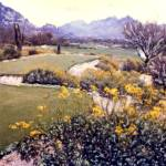 """On the Tee -- Desert Golf"" by JoanneNetland"