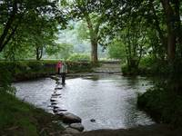 Stepping Stones River Derwent - Lake District