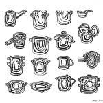 """LINE : Adaptor-Pots"" by LINEart"