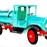 """""""Sprinkler Truck"""" by Glenda"""