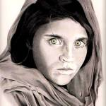 """Afghan Girl"" by Makaba"