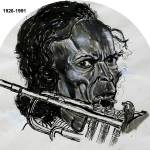 """Jazz Eccentric (Miles davis)"" by davidst"