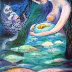 """""""ANGELS OF ZODIAC. PISCES, THE FISHES"""" by nesis"""