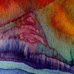 """""Peace Mountain III"" #44 02 22 07"" by achimkrasenbrinkart"