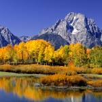 """Color in the Tetons"" by FloydBond"