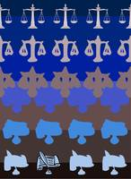 Legal Balance - Blue/Brown