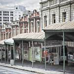 """Upper Queen Street Shops"" by johncorney"