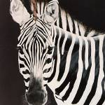"""Zebra #2  painting"" by AnimalsbyDiDi"