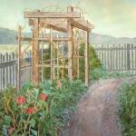 """Watkins Mill Garden"" by Mesterartshop"