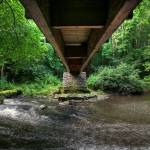 """Under the Footbridge at Clare Glen"" by GlennCartmill"
