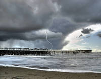 Crystal Pier Lightning