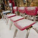 """""""Diner Chairs"""" by KOsburn"""