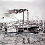 """Riverboat Davenport"" by RichardHall"
