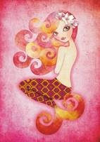 Coraleen, Mermaid in Pink