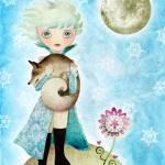 """""""Wintry Little Prince"""" by sandygrafik_arts"""