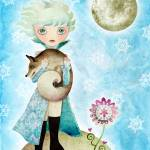 """Wintry Little Prince"" by sandygrafik_arts"