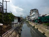 View of Mae Kha Canal Chiang Mai