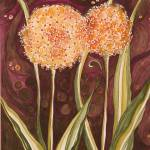 """Allium"" by arosawatercolor"