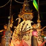 """Girls Dancing in Loi Krathong Parade Chiang Mai"" by vampireskunk"