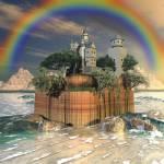 """""""Castle Rock"""" by BrokenWings3D"""
