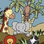 """Baby Jungle 12"" by SherryHolderHunt"