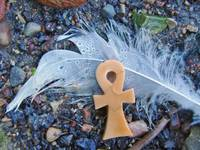 Ankh and Feather