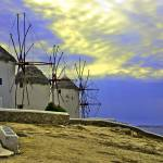 """Windmills of Mykonos"" by madeline"