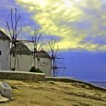 """Windmills of Mykonos"" by madeline"