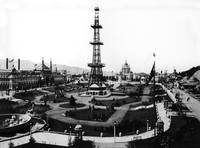 Grand Court and Electric Tower, San Francisco 1893 by WorldWide Archive