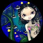 """""""Porthole Mermaid"""" by strangeling"""