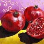 """Pomegranates"" by AbbyCreekStudios"