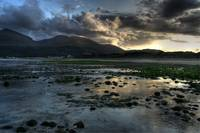 Looking across to The Mourne Mountains