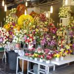 """Flower Market Stall Chiang Mai"" by vampireskunk"