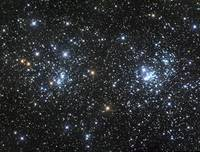 The Double Cluster - NGC 884 and NGC 869